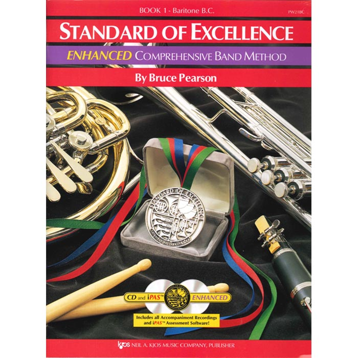 Standard Of Excellence Baritone B.C. Enhanced Book 1