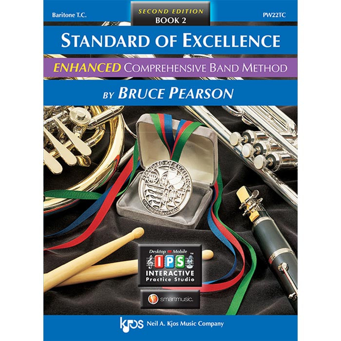 Standard Of Excellence Baritone T.C. Enhanced Book 2