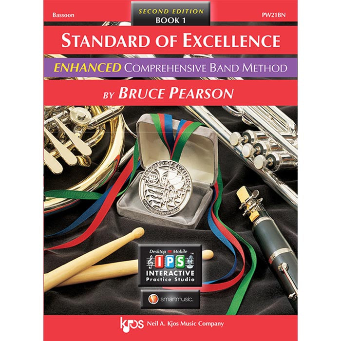 Standard Of Excellence Bassoon Enhanced Book 1