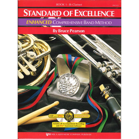 Standard Of Excellence Bass Clarinet Enhanced Book 1