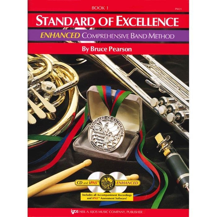 Standard Of Excellence Drums And Mallet Percussion Enhanced Book 1