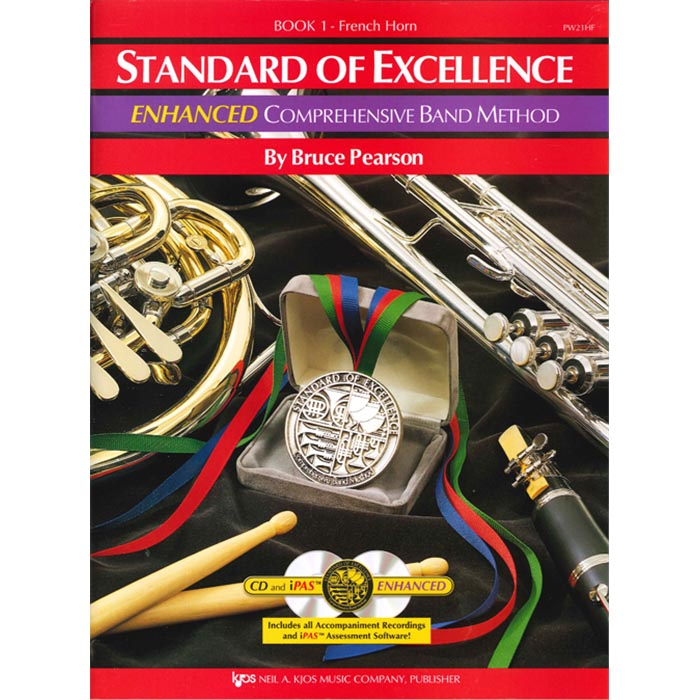Standard Of Excellence French Horn Enhanced Book 1