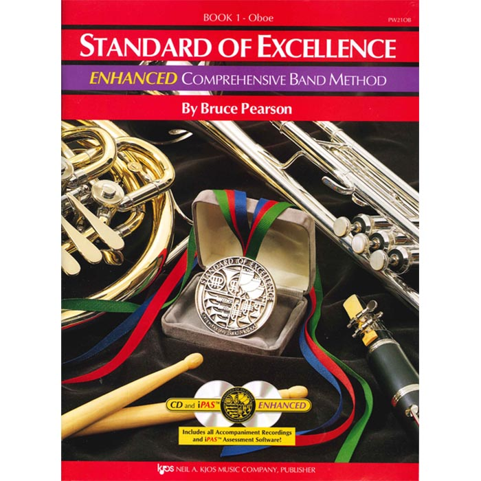 Standard Of Excellence Oboe Enhanced Book 1