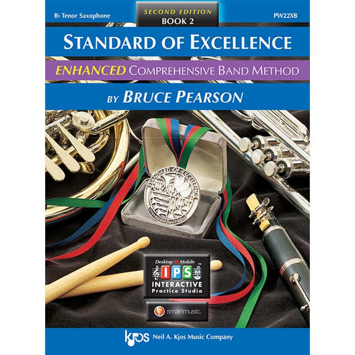 Standard Of Excellence Tenor Sax Enhanced Book 2