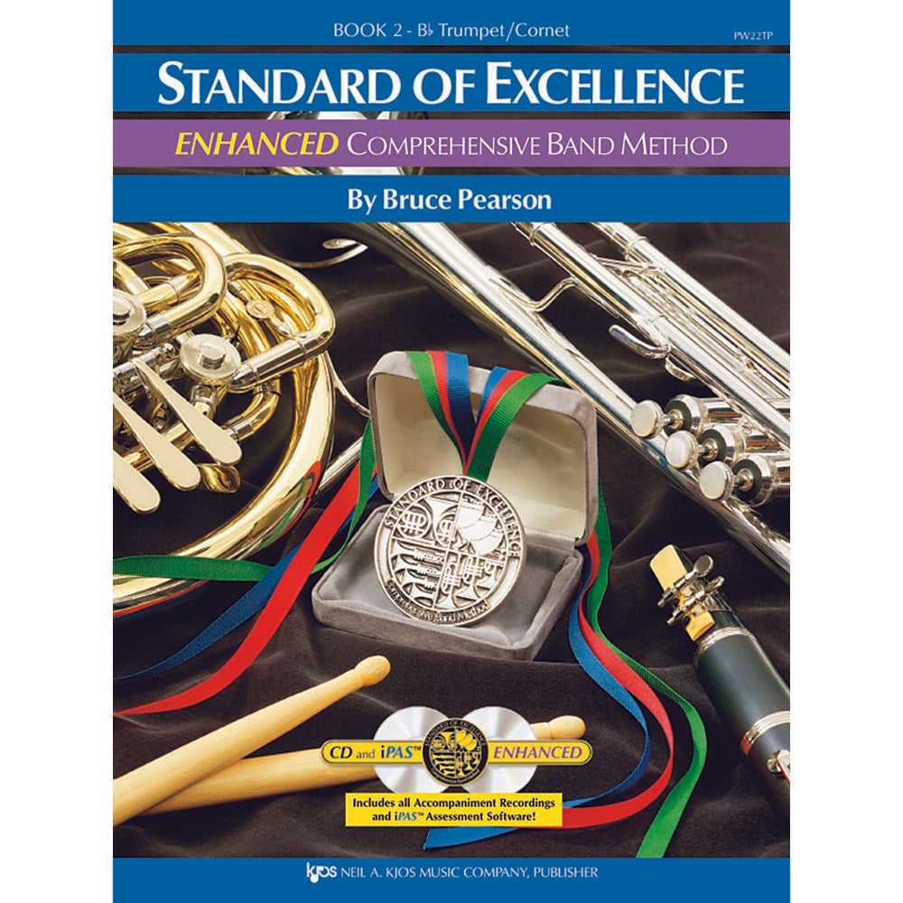 pw22tp standard of excellence enhanced book 2 trumpet cornet