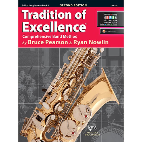 Tradition Of Excellence - Alto Sax Book 1