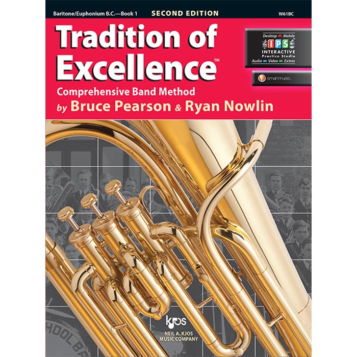 Tradition Of Excellence - Baritone B.C. Book 1