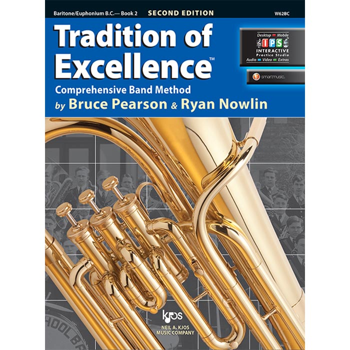 Tradition Of Excellence - Baritone/Euphonium B.C. Book 2