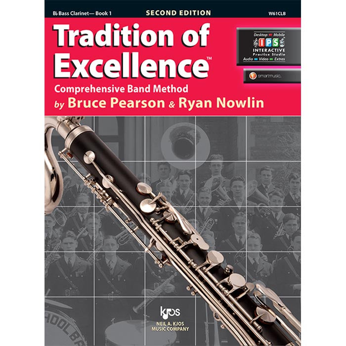 Tradition Of Excellence - Bass Clarinet Book 1