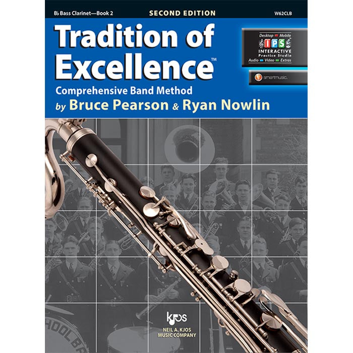 Tradition Of Excellence - Bass Clarinet Book 2