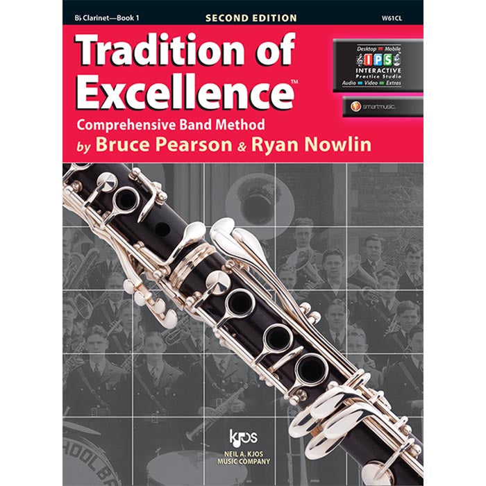 Tradition Of Excellence - BB Clarinet Book 1