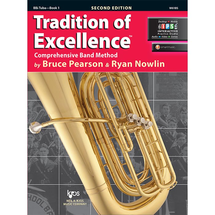 Tradition Of Excellence - BBB Tuba Book 1