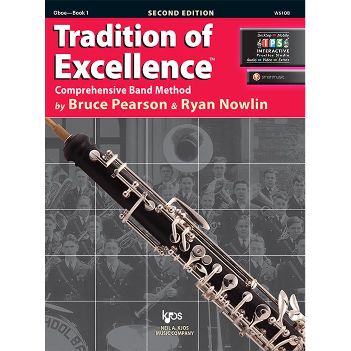 Tradition Of Excellence - Oboe Book 1