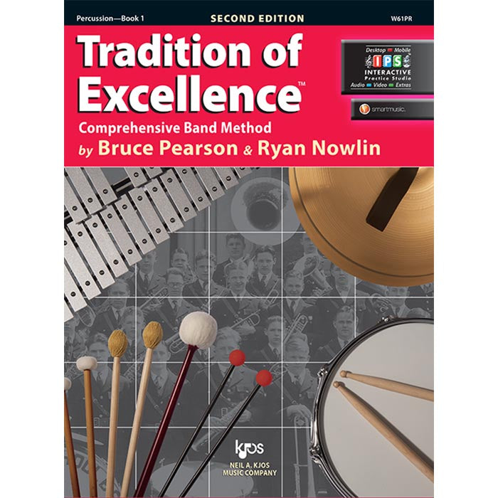 Tradition Of Excellence - Percussion Book 1