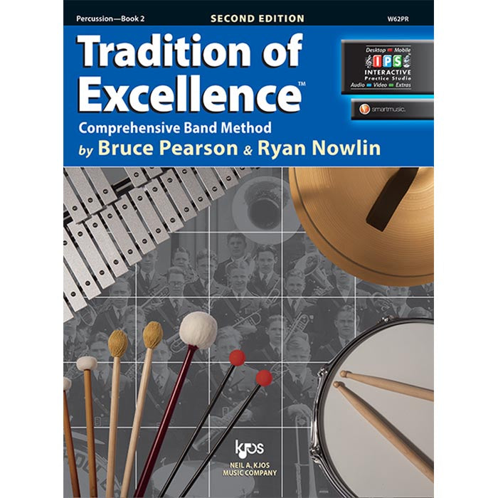 Tradition Of Excellence - Percussion Book 2