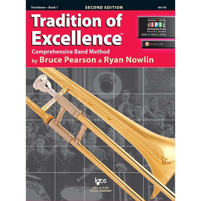 Tradition Of Excellence - Trombone Book 1