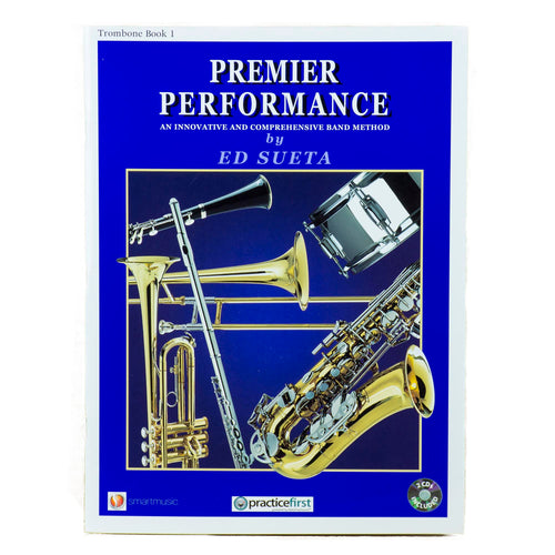 Premier Performance Trombone Book 1 With CD