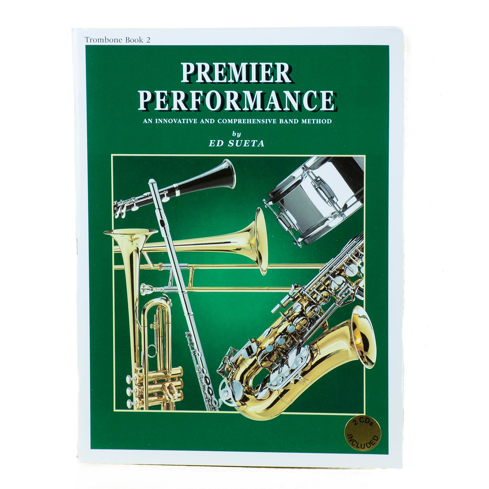 Premier Performance Trombone Book 2 With CD