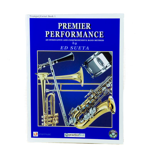 Premier Performance Trumpet Book 1 With CD