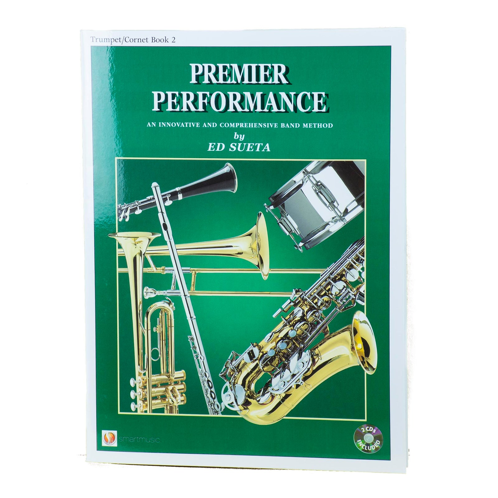 Premier Performance Trumpet/Cornet Book 2 With CD