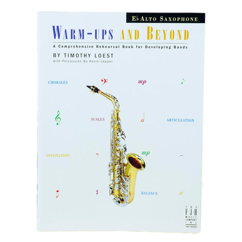 Warm-Ups And Beyond - Alto Sax