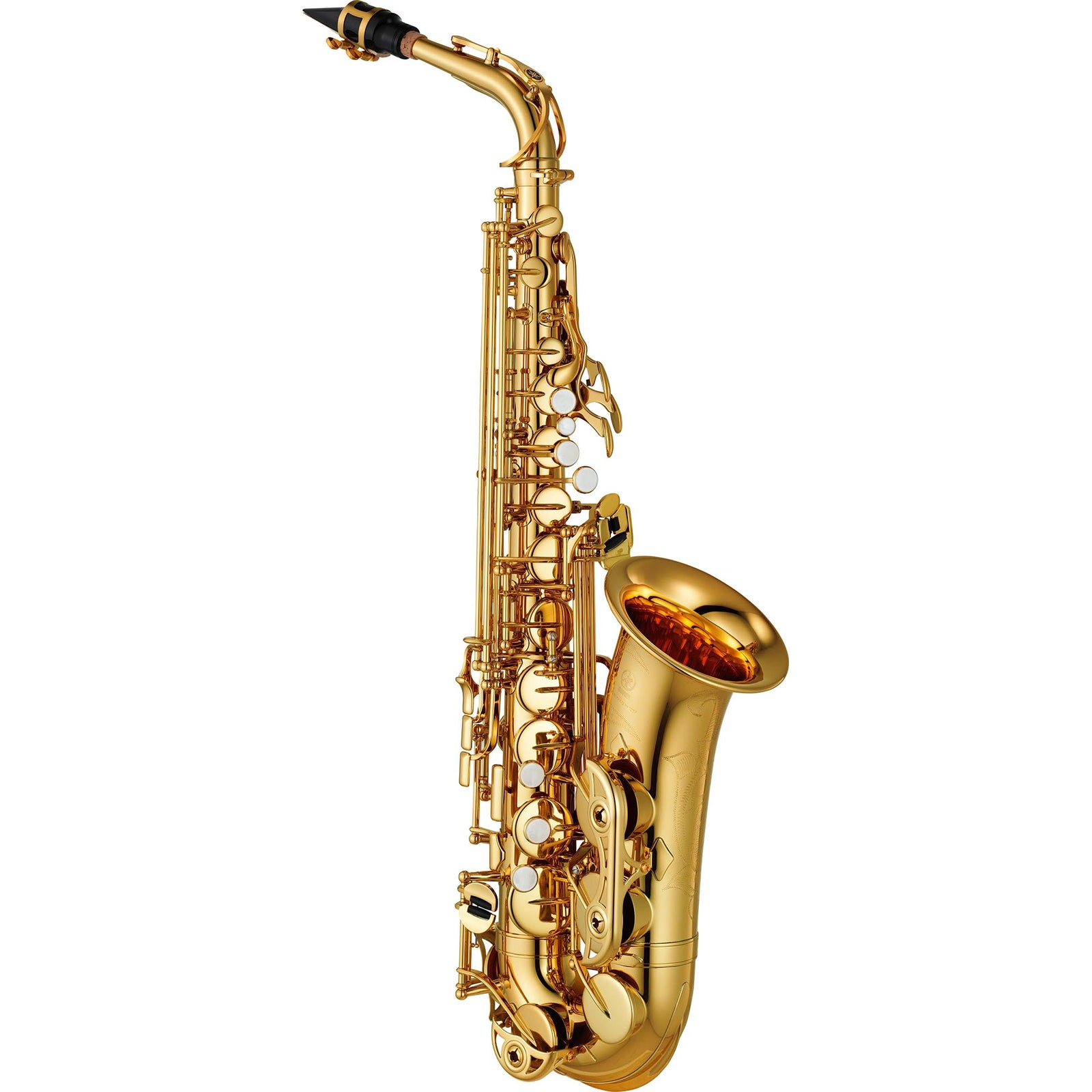 Yamaha Intermediate Alto Saxophone - Low BB - High F#Key