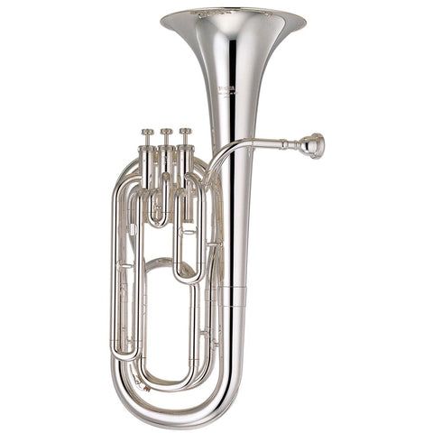 "Jupiter Standard Bb Baritone Lacquered Brass Body, .531"" Bore, 9.5"" Upright Bell"