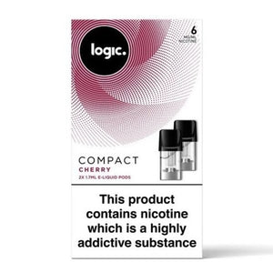 Logic Compact Pods x 12 Packs (24 Pods)