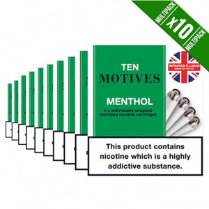 Ten Motives Refills x 10 Packs (40 Refills)