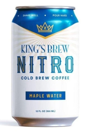 King's Brew Maple Water 12 pack