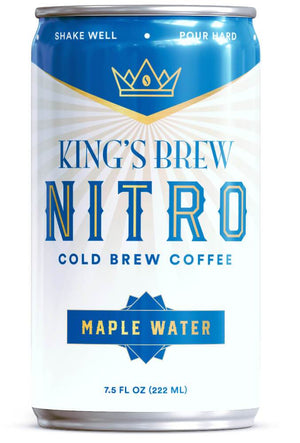 Maple Water, Nitro Cold Brew