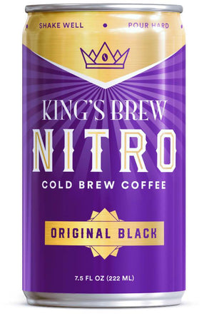 Original Black, 7.5 oz Nitro Cold Brew, Case of 6
