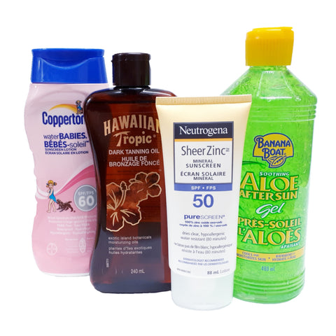 Sun Care & Sunscreen Lotion