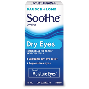 Bausch & Lomb Soothe Dry Eyes Eye Drops 15mL