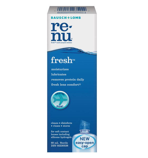 Bausch & Lomb Renu Multi-Purpose Contact Lens Solution