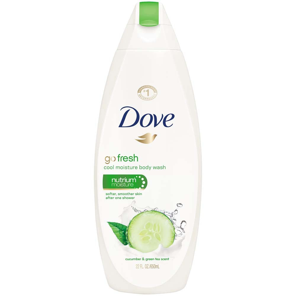 Dove Go Fresh Cucumber & Green Tea Scent Body Wash 354mL