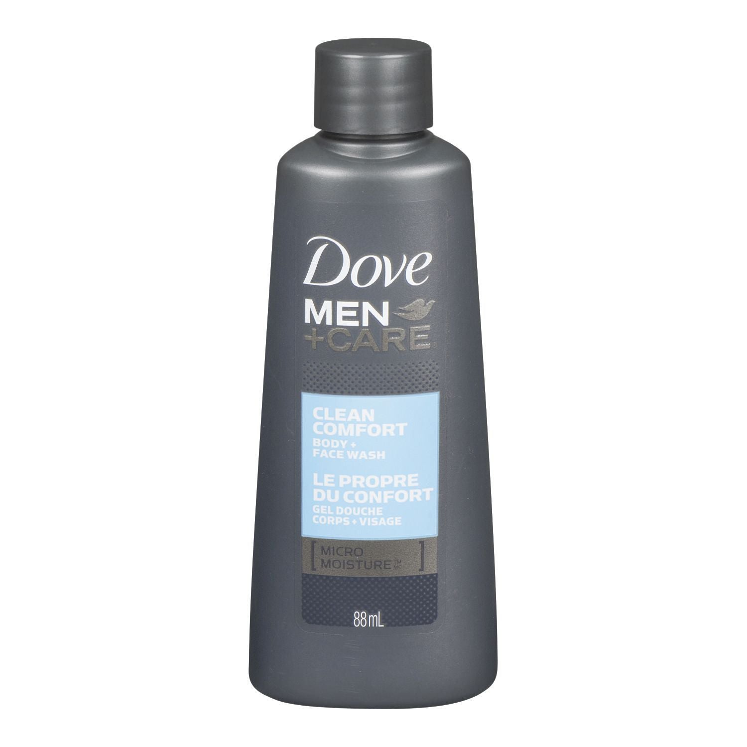Dove Men+Care Clean Comfort Body + Face Wash 88mL