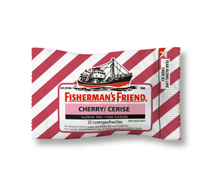 Fisherman's Friend Cherry Sucrose Free 22 Lozenges