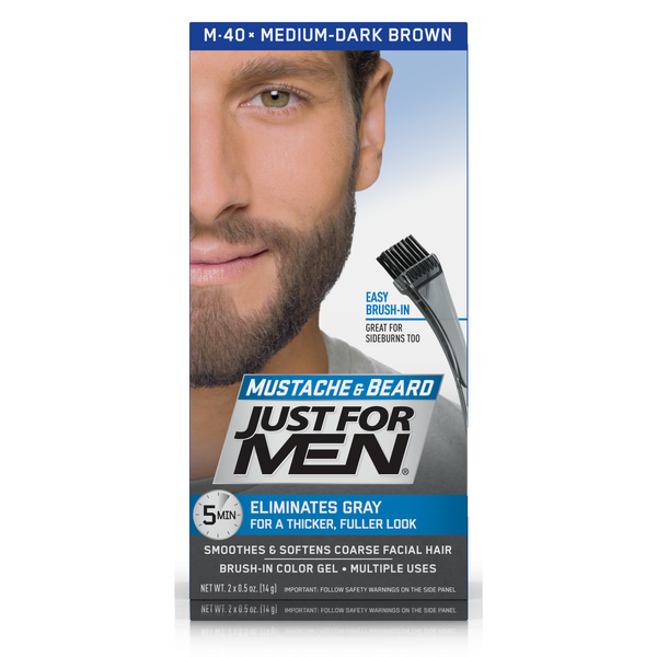 Just For Men Mustache & Beard Colour Gel