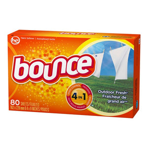 Bounce Outdoor Fresh Dryer Sheets 80 Sheets