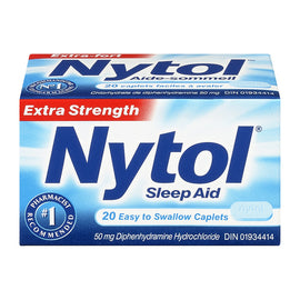 Nytol Sleep Aid Extra Strength 20 Caplets