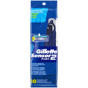 Gillette Sensor2 Plus 10 Disposable Razors