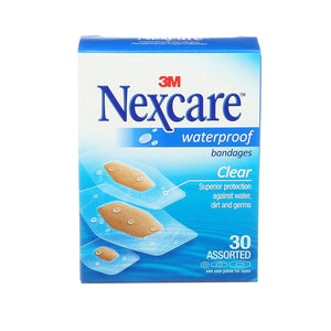 Nexcare Bandages Waterproof 30 Assorted