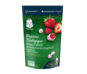 Nestle Gerber Organic Yogurt Melts Strawberries 28g