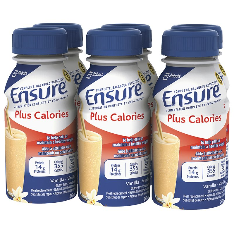 Ensure Plus Calories Meal Replacement 6x235mL