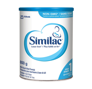 Similac Lower Iron Step 1 Powder 850g