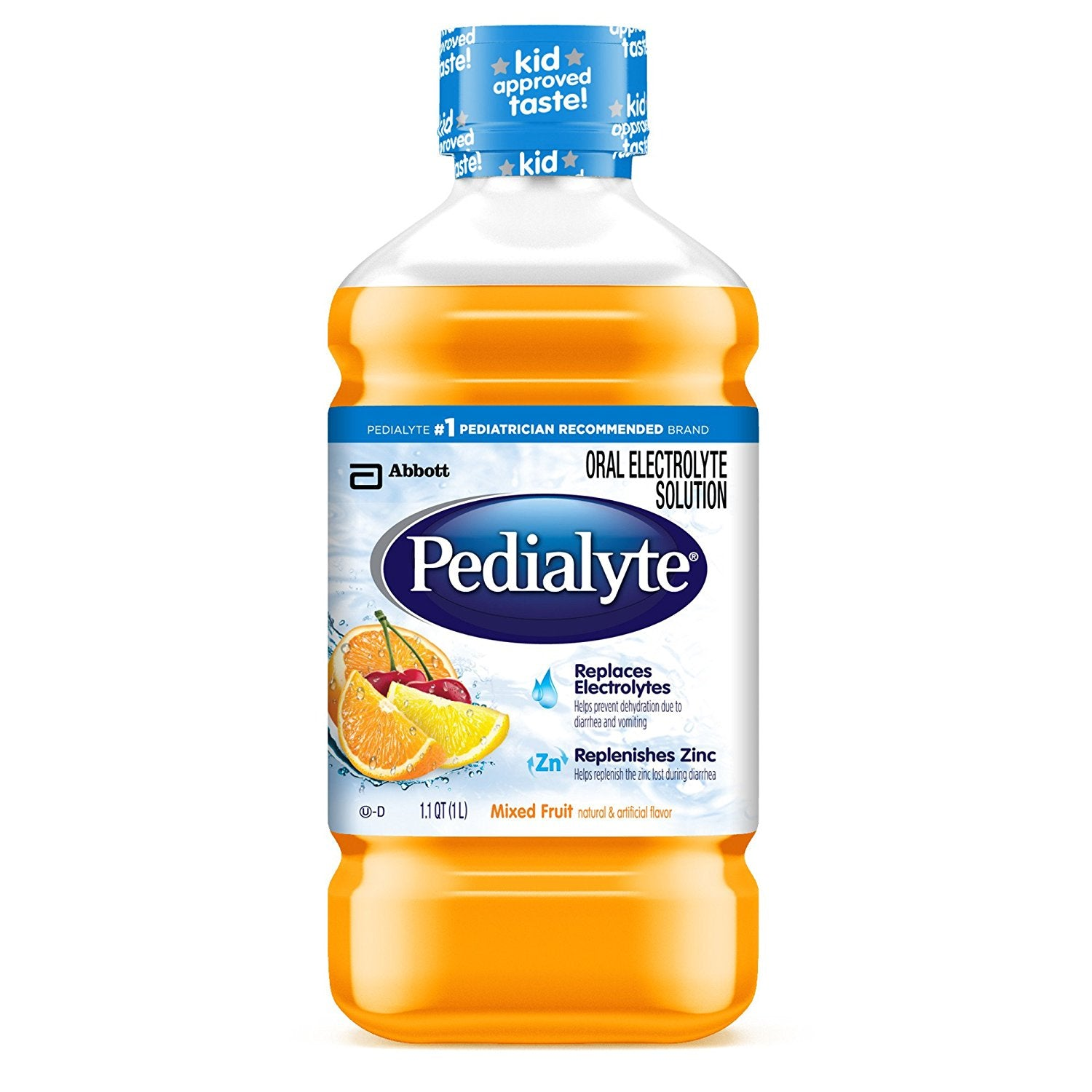 Pedialyte Oral Rehydration Solution 1L Fruit Flavour