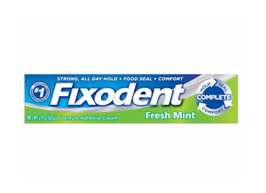 Fixodent Fresh Mint Denture Adhesive Cream 68g