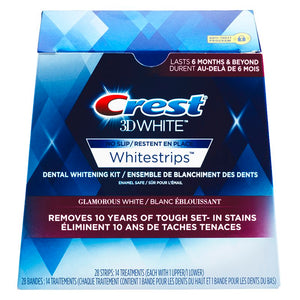 Crest 3DWhite Whitestrips Glamorous White 28 Strips (14 Treatments)