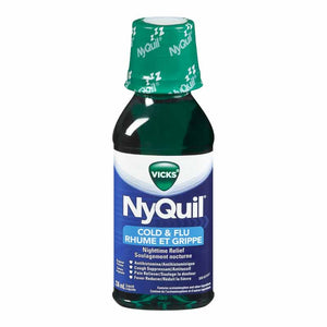 NyQuil Cold & Flu Nighttime Relief Liquid